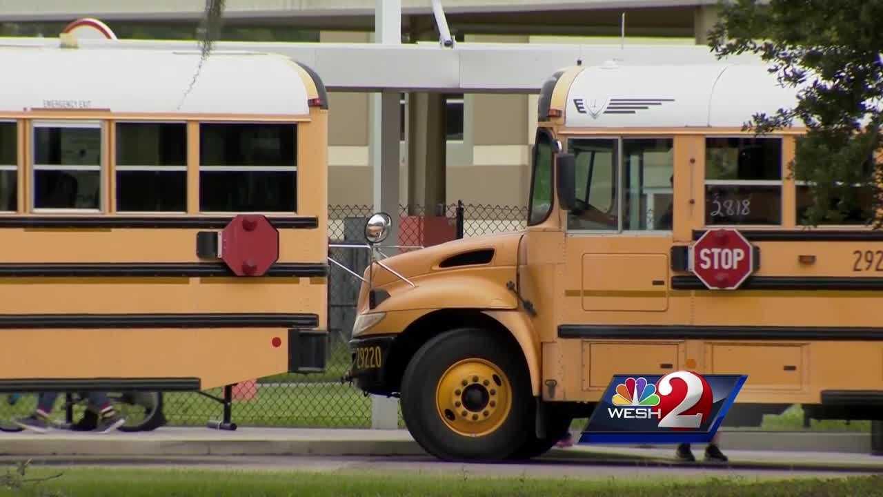 Parents debate school policies during storm