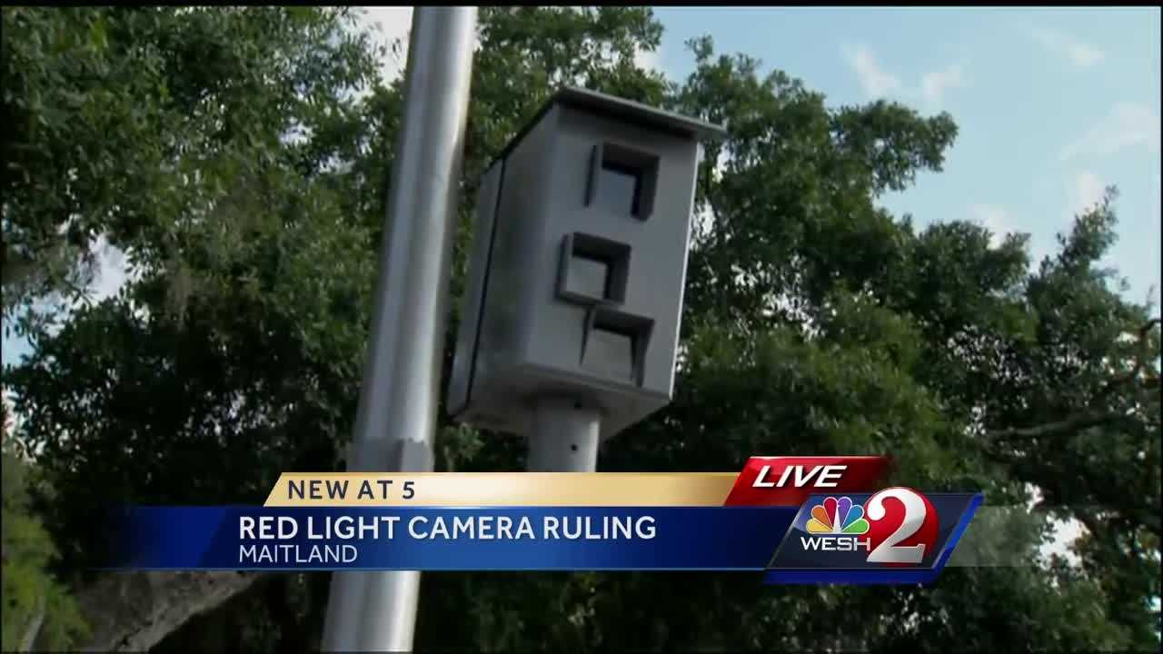 Appeal court rules in red light camera case