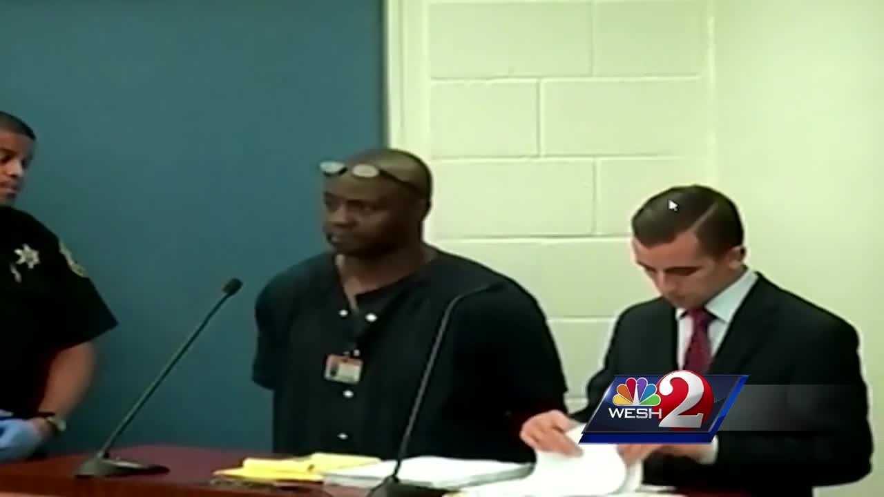 Orlando rape suspect appears in court