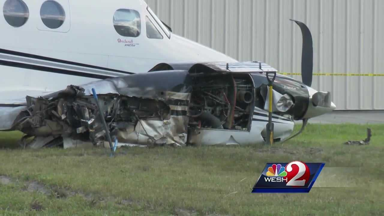 Plane crash lands in Apopka