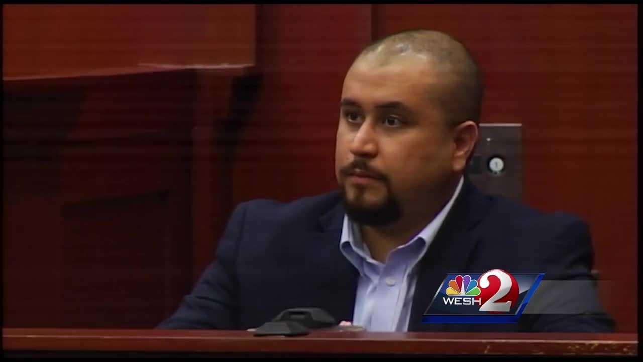 Zimmerman denies pointing gun at Apperson