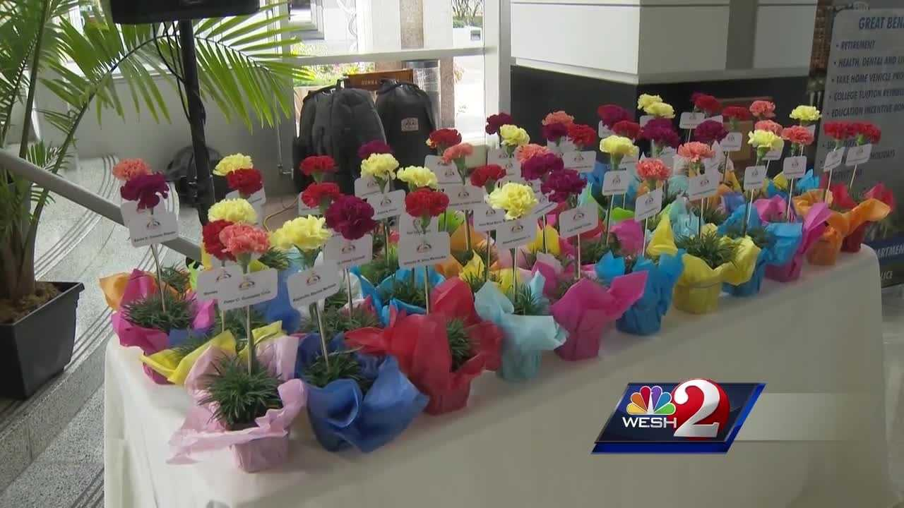 Pulse shooting victims, loved ones honored at Orlando City Hall