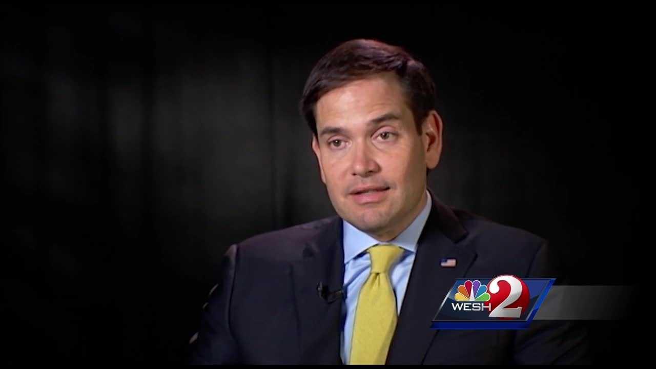 Rubio discusses new gun bill
