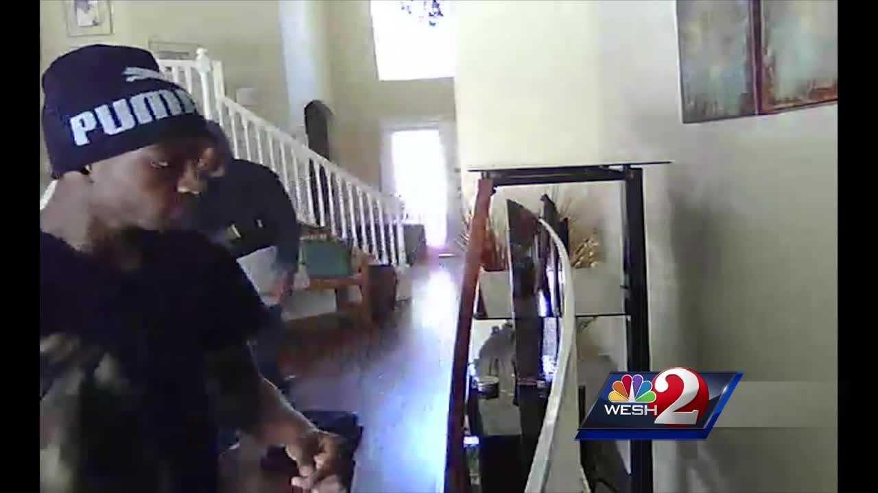 Thiefs caught on camera raiding Ocoee home