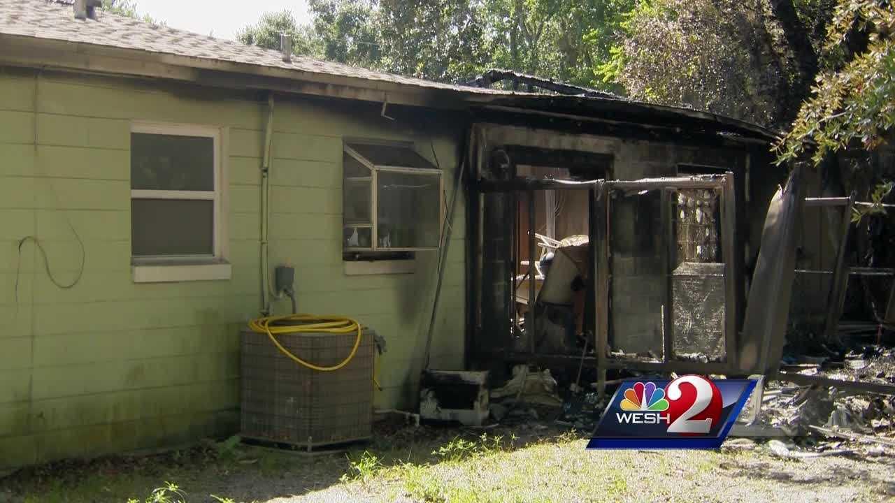 Residents escape house fire in Daytona Beach