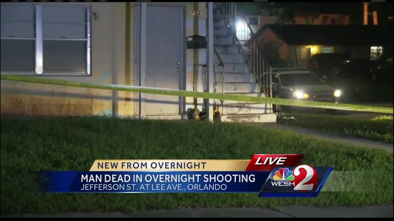 Man shot to death overnight