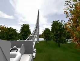 It will be the tallest and fastest roller coaster in the park and doesn't go upside down, making it more family friendly.