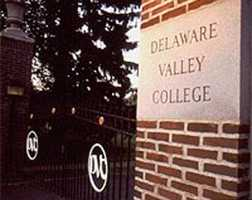 …Delaware Valley College in Doylestown…
