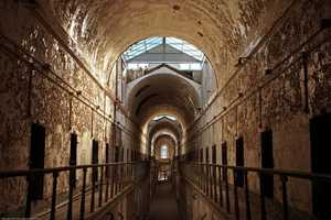 Scenes were shot in the Eastern State Penitentiary…
