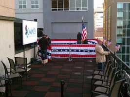 The event is at his Pennsylvania headquarters at 20 North Second Street.