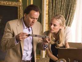 National Treasure: Jerry Bruckheimer looked to Philadelphia for some scenes from this flick about a treasure hunter.