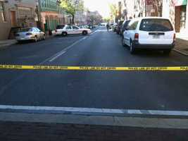 This is the South Prince Street shots fired scene.