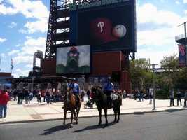 The Phillies home opener is Monday at Citizen's Bank Park in Philadelphia.