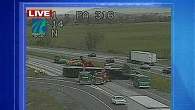 I-81 truck crash