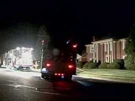 Fire crews were called to the 4100 block of Wimbledon Drive in Lower Paxton Township, Dauphin County, about 3 a.m. Tuesday.