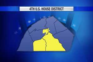 In the newly-created fourth Congressional district, which covers Adams, York and parts of Cumberland and Dauphin counties ...