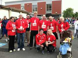 Team Target at the Harrisburg Race Against Racism.