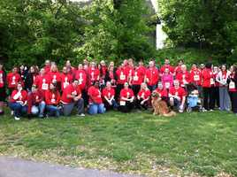 Target's team for the Harrisburg Race Against Racism.