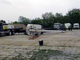 Martin A. Murillo, an employee of Scenic Ridge Construction, was loading the boom lift onto a trailer, company officials said.