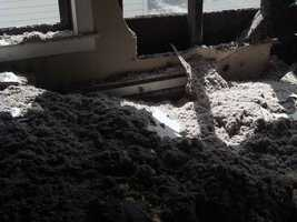 News 8's Katelyn Smith took these photos of the inside of the home.
