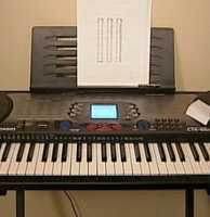Next, Wolpert tested an electric keyboard. Wolpert said it would cost around 11 cents to keep it plugged in.