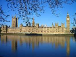 London is home to four World Heritage Sites -- the Tower of London, Kew Gardens, Greenwich, and the site of the Palace of Westminster, Westminster Abbey and St. Margaret's Church. Buckingham Palace is also another famous tourist attraction.