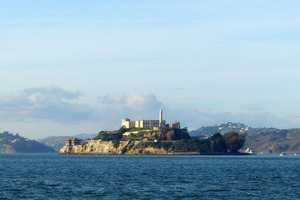 The city is most notably known for Pier 39 near Fisherman's Wharf and Alcatraz.