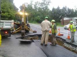 It happened along Route 24 near Harrowgate in Springettsbury Township.