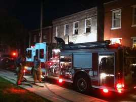 The second fire happened a few hours later in the 200 block of Arch Street. Everyone inside escaped safely.