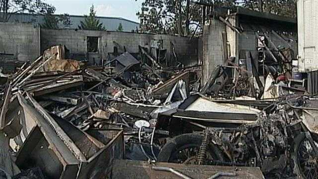 Future uncertain for burned down biker shop