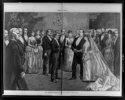 1885-1889: Frances Folsom Cleveland was the first bride of a President to be married in the White House.