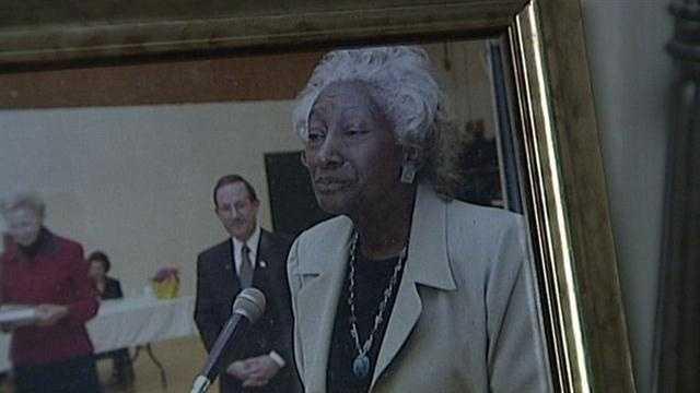 York woman honored