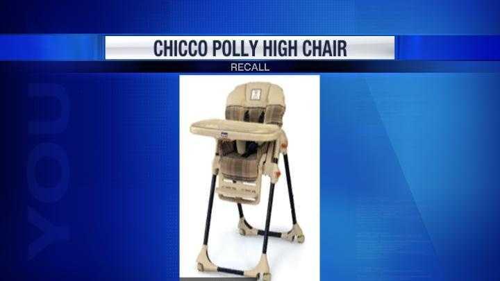 High chair recall
