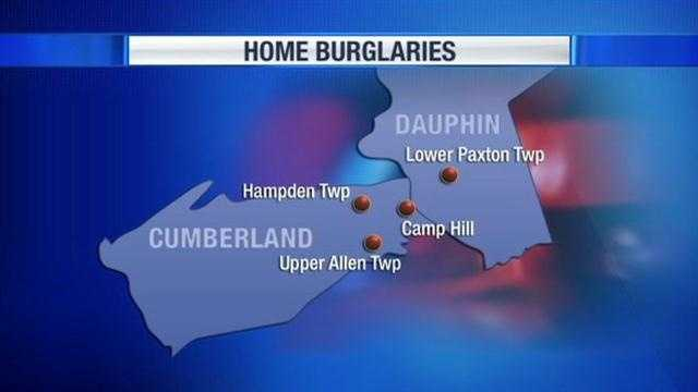 West Shore home burglaries