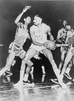 1950 is recognized as the year the NBA officially integrated, with the addition of African American players by several teams.