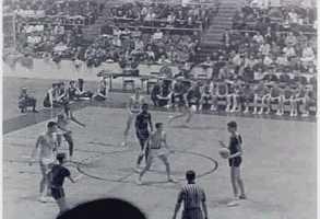 Attendance didn't matter, however, because Wilt Chamberlain put on a show.