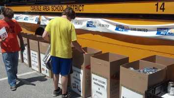Project SHARE will use monetary donations to buy backpacks.