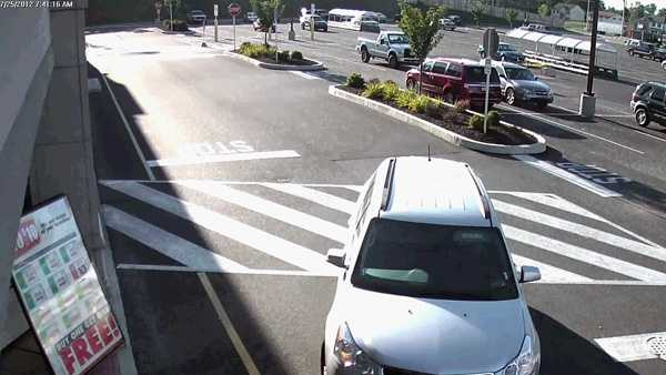 Wednesday afternoon, Mount Joy police released this image of the suspect's vehicle.