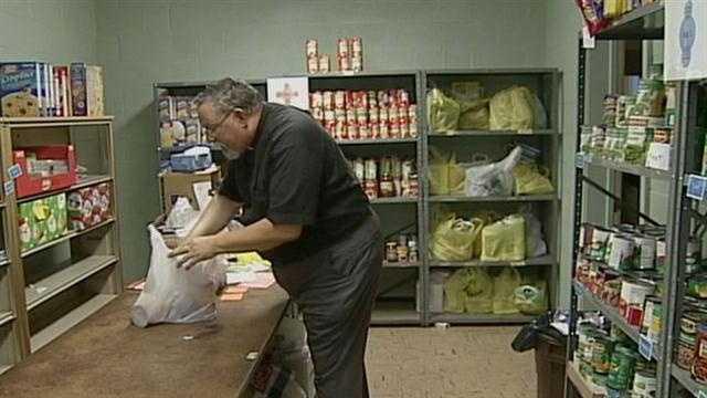 MANHEIM FOOD BANK SHORTAGE