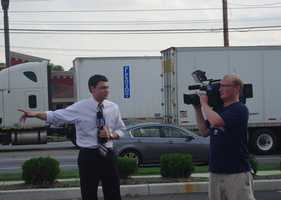 News 8 was on the scene to cover the event.Click here to see News 8's coverage of the Chick-fil-A rally.