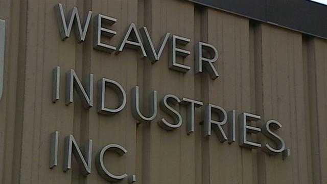 Weaver Industries sign