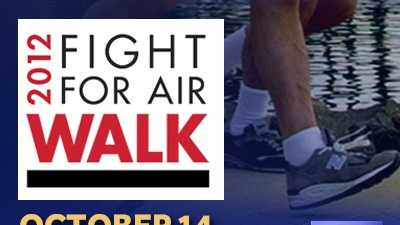 American Lung Association Fight For Air Walk 2012
