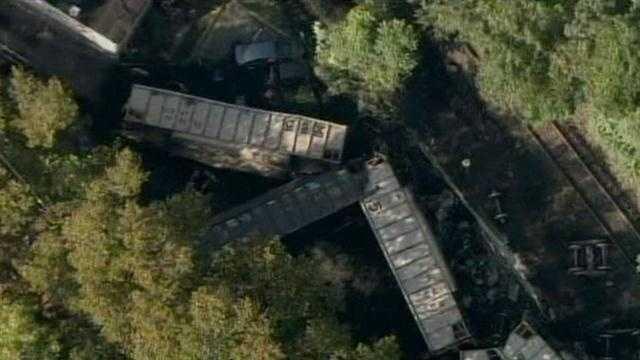 Maryland fatal train derailment