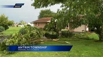 Storm cleanup continues in parts of the Susquehanna Valley as the National Weather Service confirmed a tornado did touch down in Franklin County on Sunday.