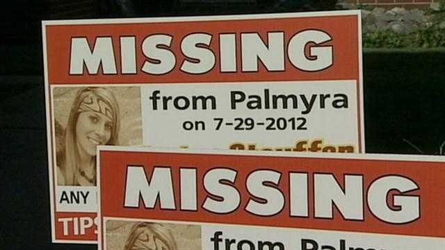 Missing girl signs