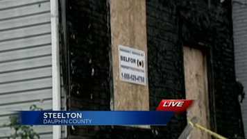 The Steelton fire chief said around midnight, the man noticed the fire and kicked in the door to rescue a 66-year-old man and his female acquaintance.