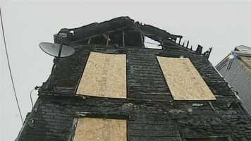 Two Steelton residents are homeless following a suspicious fire Monday night.