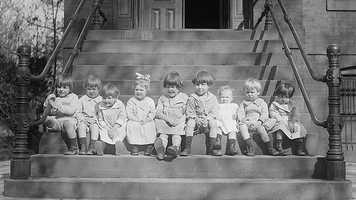 So, here are the most popular baby names in reverse order from 1901. The names will be displayed in a graphic above the captions. Ladies first…