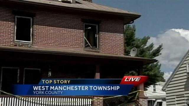 West Manchester Township fire