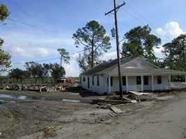 Isaac dumped more rain in the South than Hurricane Katrina did.